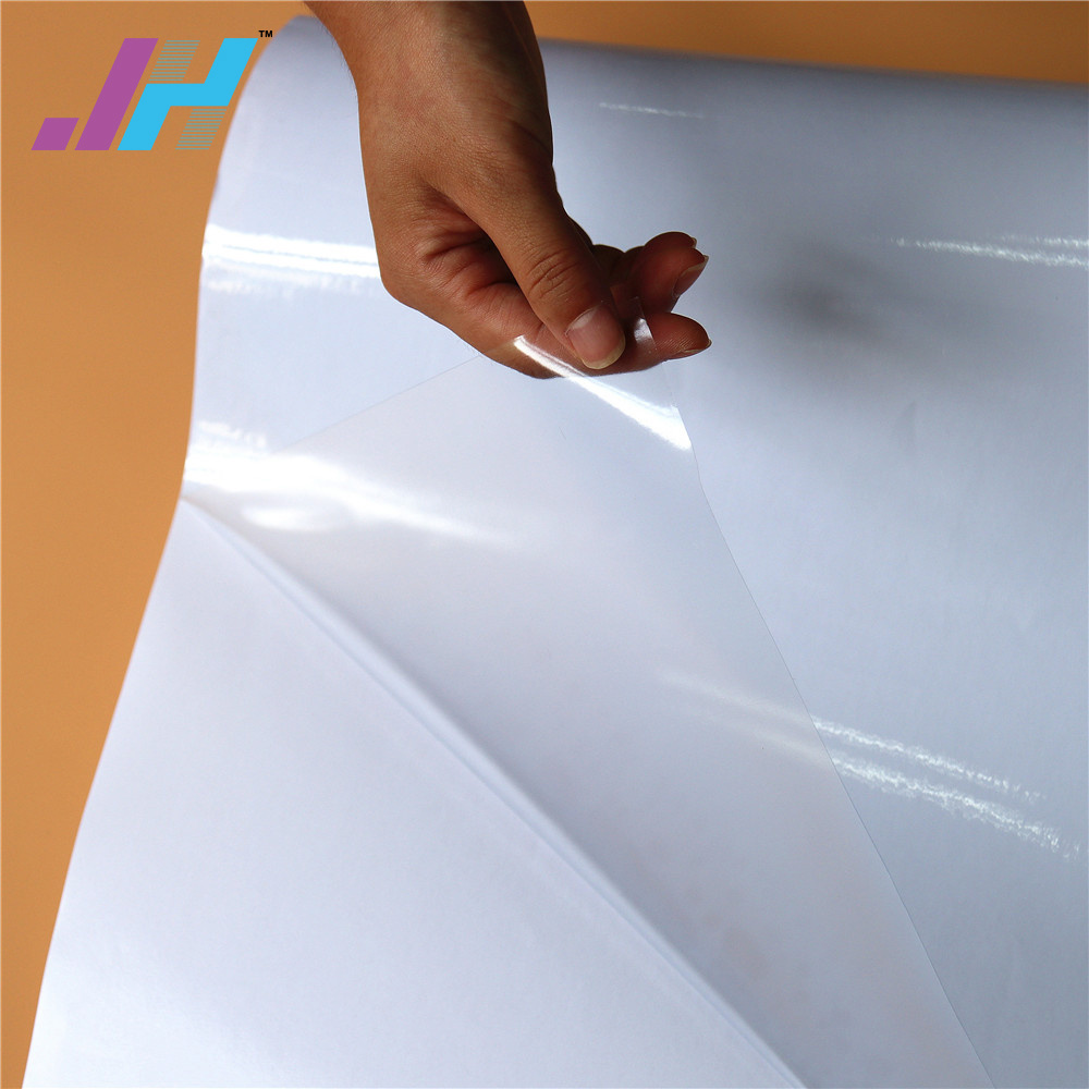 PVC Sticker Transparent Self Adhesive Vinyl