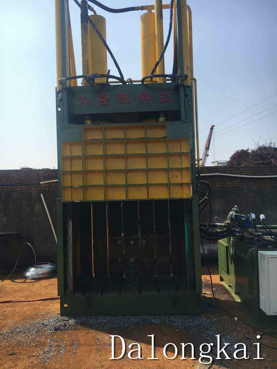 Y82-160 Plastic Vertical Baler Machine