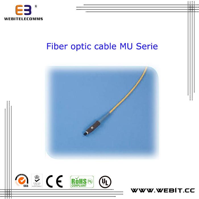 Mu Duplex/Simplex Fiber Optical Patch Cord Cable Sc/FC/St/Mu/MTRJ