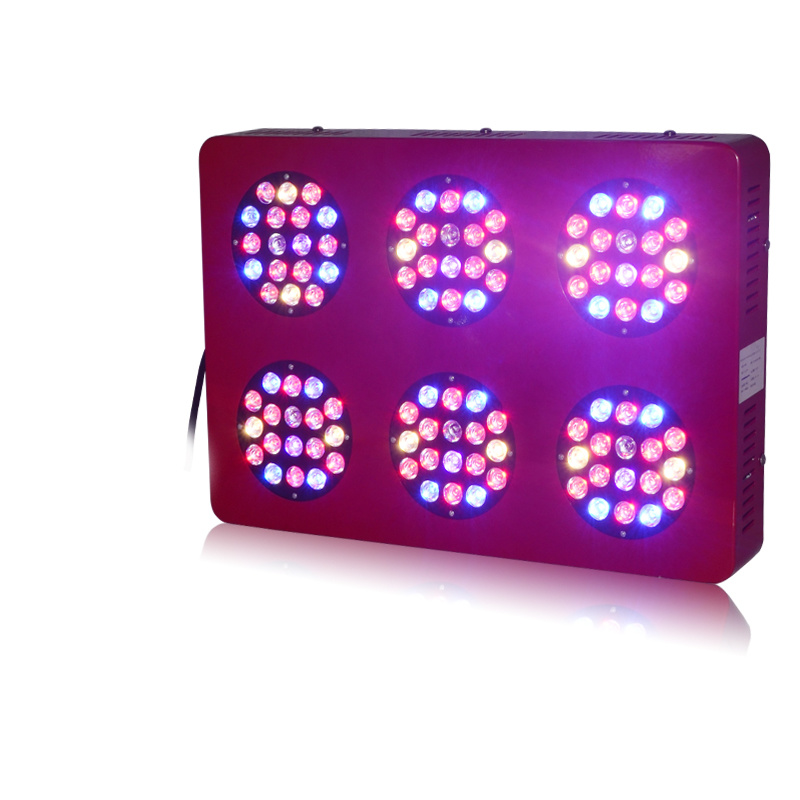 Full Spectrum 360W LED Grow Light Hydroponics Systems LED Grow Light Panel