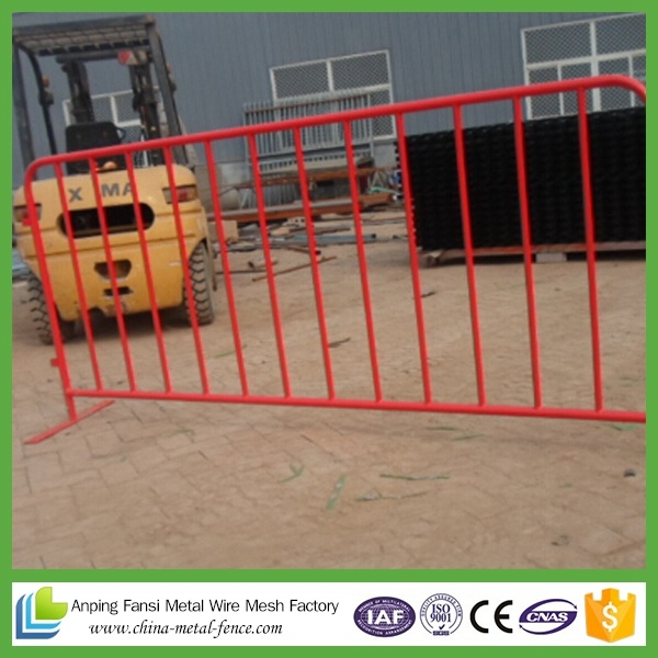 Powder Coated Welded Crowd Control Barrier