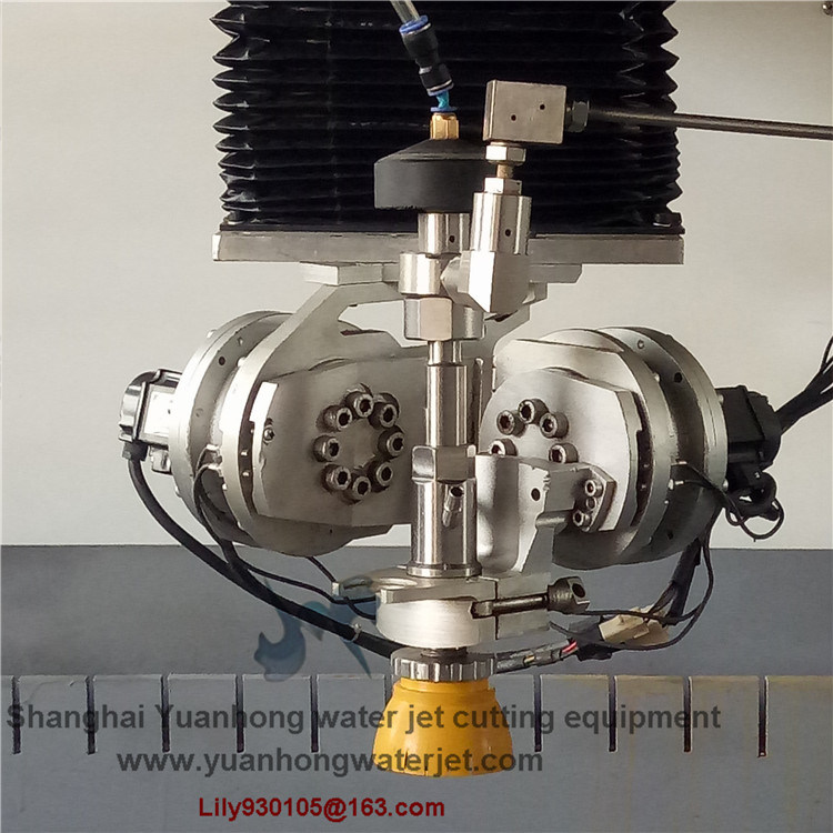 Small 5 Axis Cutting Head with Dwj Type for Water Jet Cutting Machine