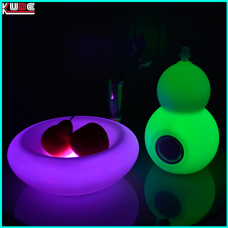 LED Colorchange Wireless LED Speaker Bluetooth with Remote Control