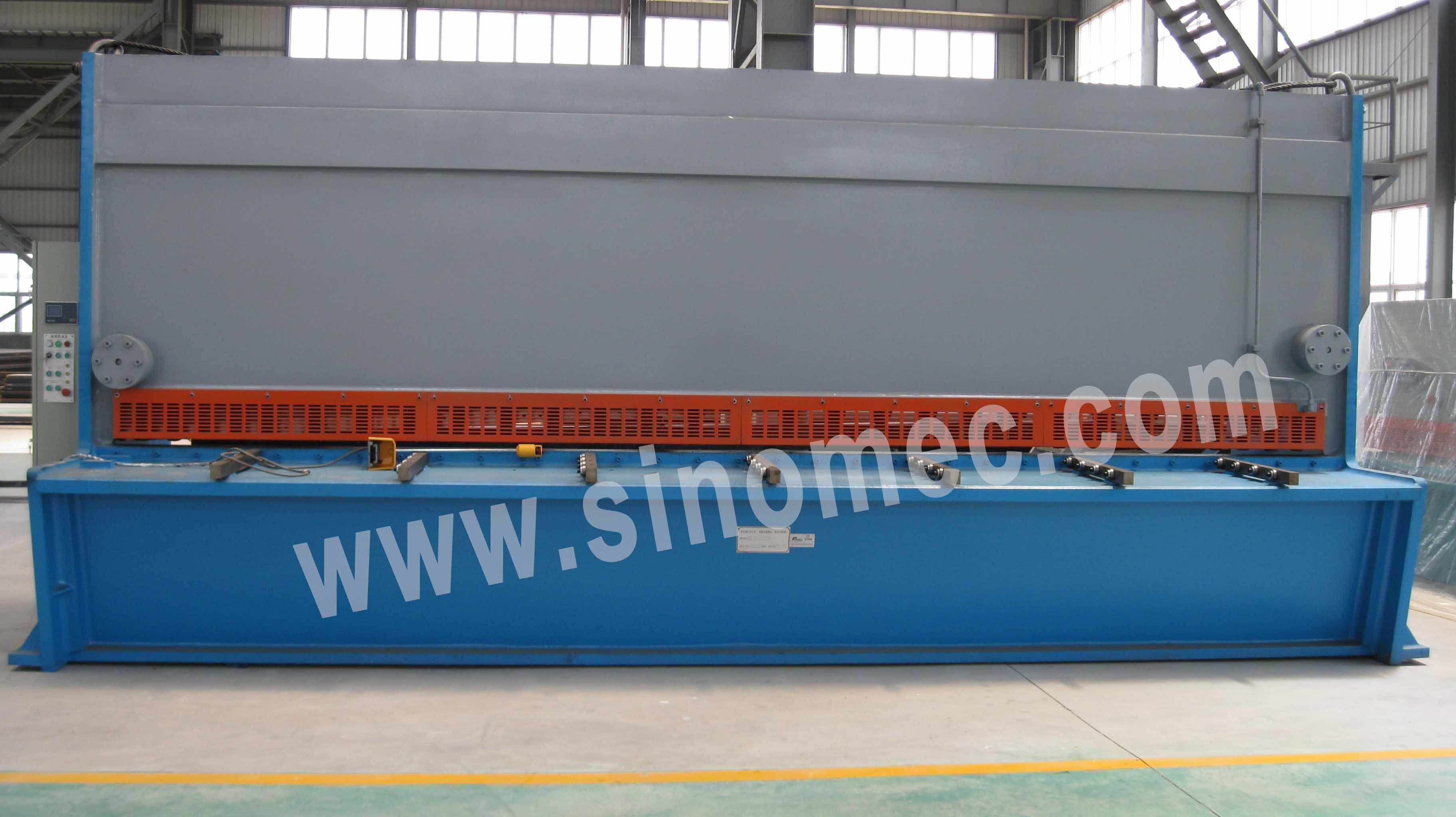 Guillotine Shear / Cutting Machine / Hydraulic Shear Machine (QC11K-26X6000)
