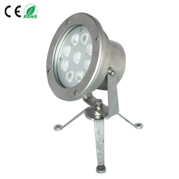 Marine 9X3w LED Underwater Fountain Light, Projector Lamp