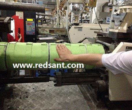 Injection Molding Machine Heat Insulation with Aerogel Insulation Cover