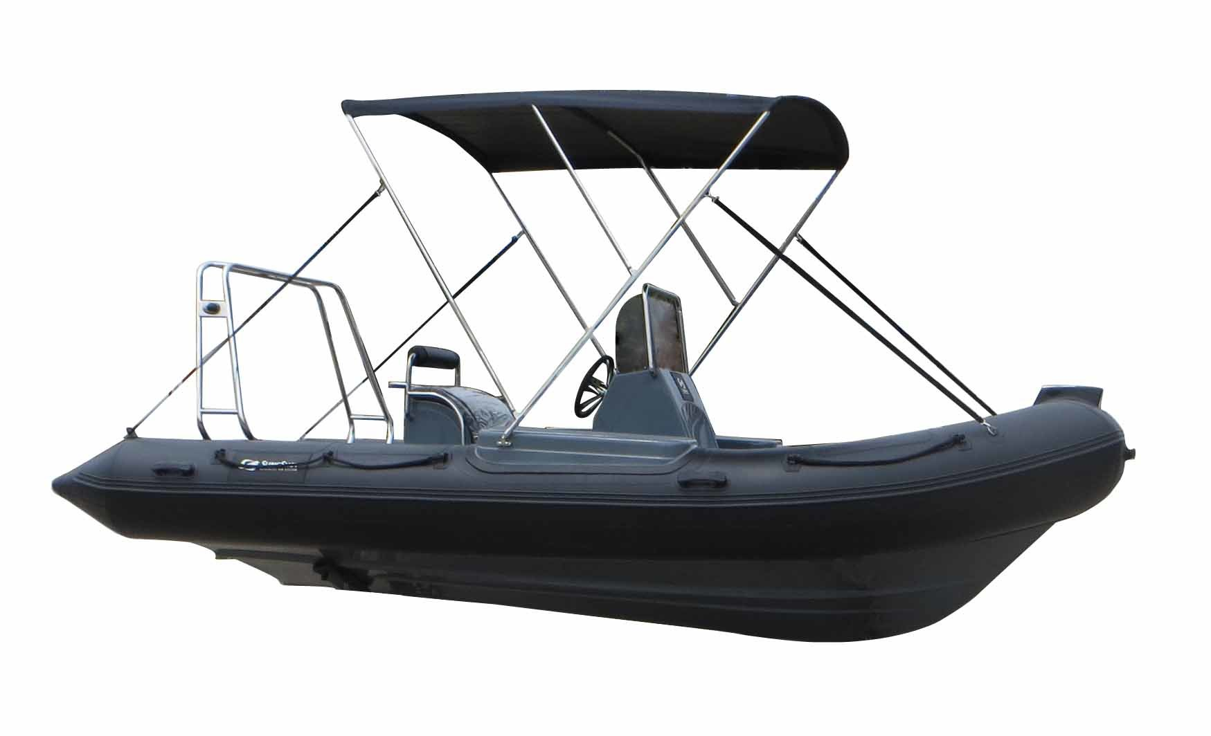 Aqualand 18feet 5.4m Rigid Inflatable Fishing Boat/Rib Rescue Patrol/Motor Boat (RIB540A)