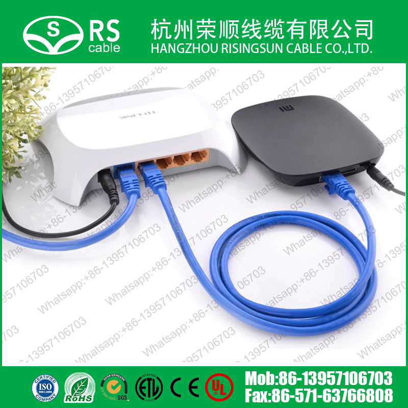 Cat5e CAT6 Patch Cable/ RJ45 Patch Cord UTP/FTP/SFTP