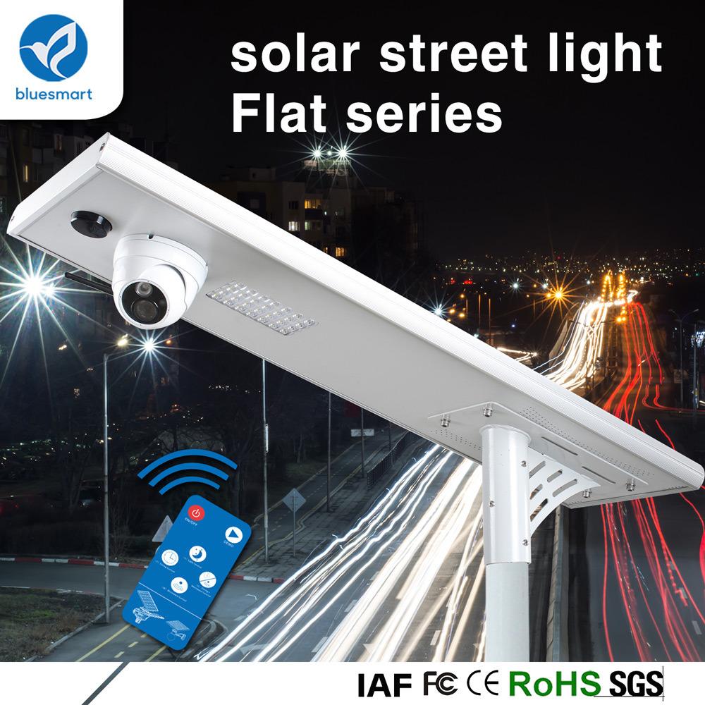 Integrated Outdoor LED Solar Street Garden Light with CCTV Camera (WiFi 3G/4G)