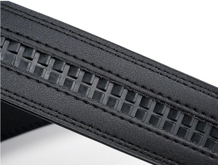 Holeless Leather Belts for Men (DS-170309)