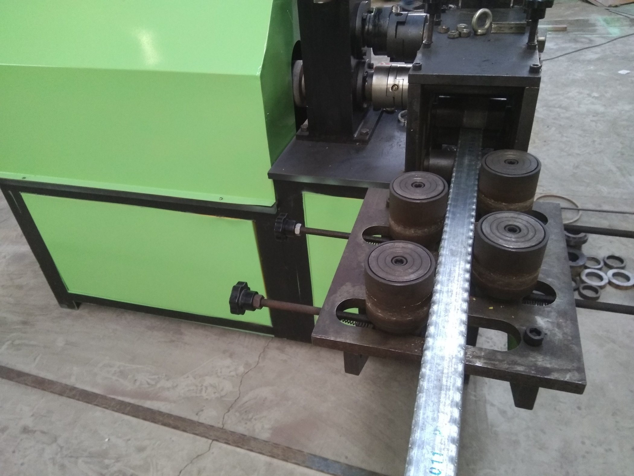 Oy-Yh100 Cold Rolling Embossing Machine for Wrought Iron Decoration