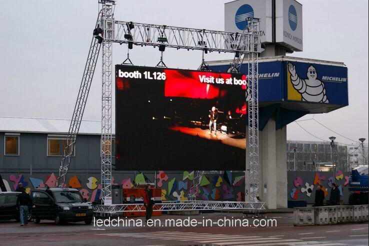 Outdoor Aluminium Die Casting P8 Rental LED Screen