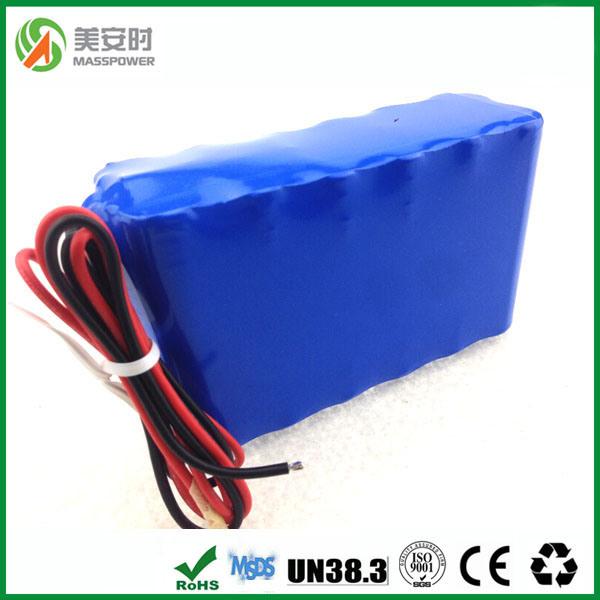 Original SANYO Cells 12V 10ah Lithium Battery