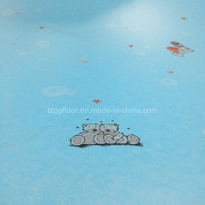 Anti-Slip Fireproof Ecofriendly Magical PVC Flooring for Children