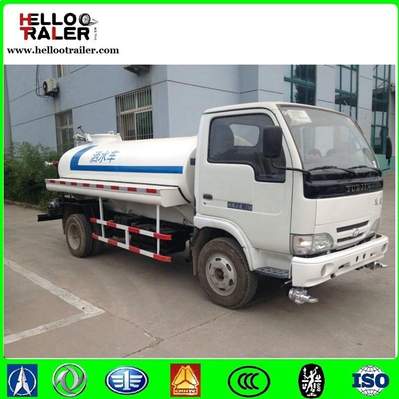 4*2 Mini Fuel Tank Truck 15000L Small Oil Tanker Truck