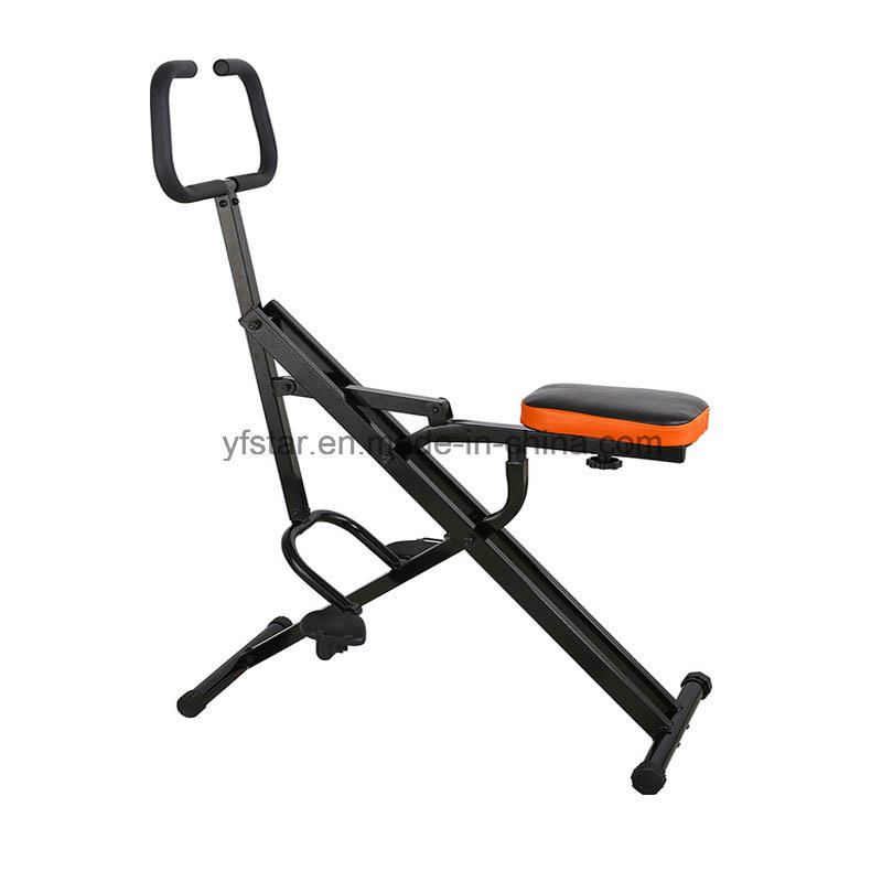 Black Total Crunch Gym Sports Equipment