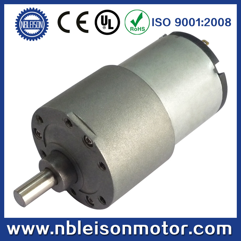 37mm 12V Low Rpm High Torque Micro DC Gear Motor
