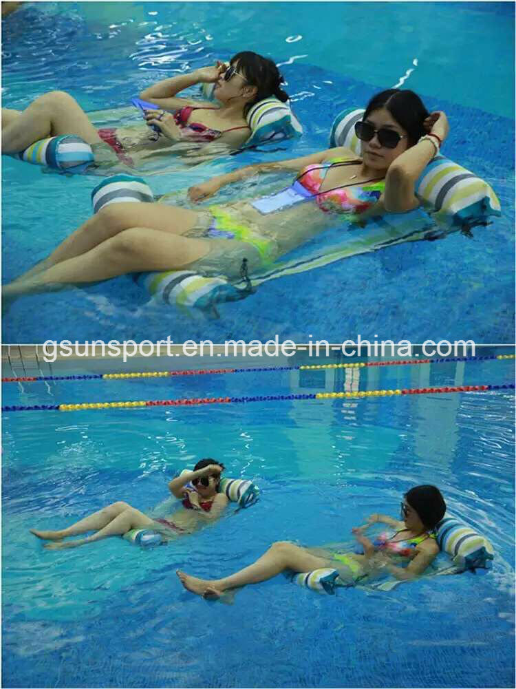 2017 New Inflatable Pool Float Chair Lounge Comfort Seat Swimming Water Chair Inflatable Products