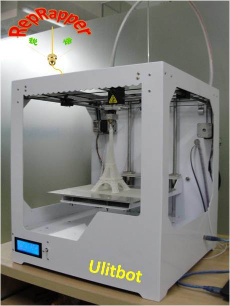 Ultibot 3D Printer Based on Ultimaker Industrial Fdm Printer