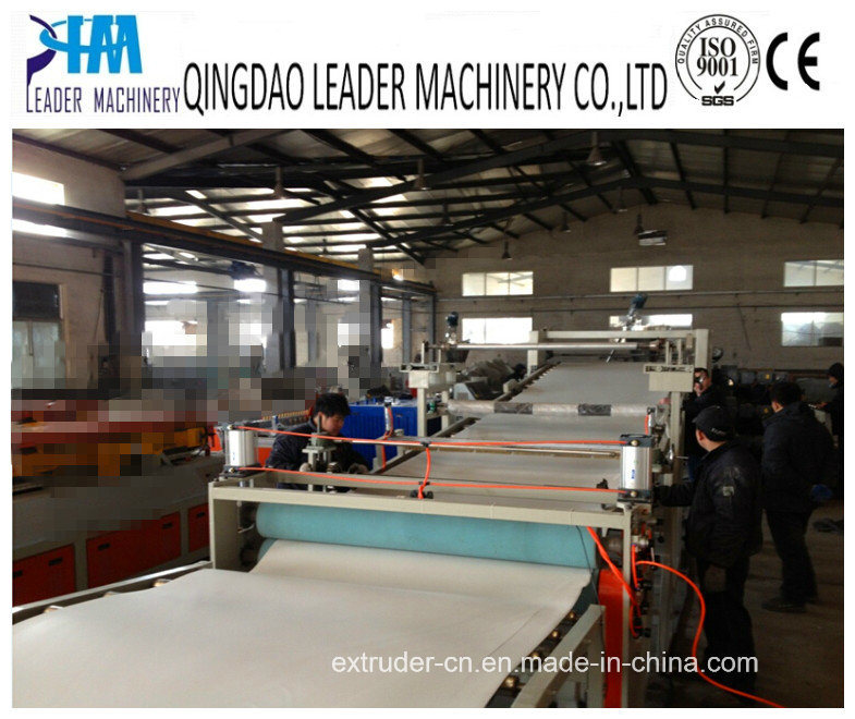 PVC Sheet Board Extrusion Line, Extruding Machine, Plastic Machinery