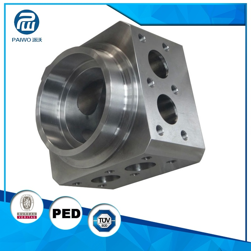 CNC Machining Forged High Precision Hydraulic Part for Industry