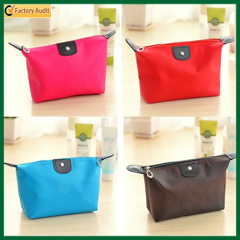 Promotional Lady Cosmetic Pouch Polyester Cosmetic Bag (TP-COB018)