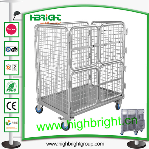 Heavy Duty Collapsible Roll Cage Container