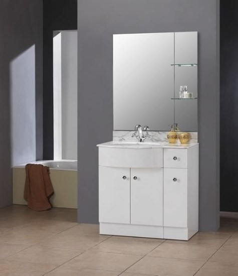 Gabinetes Para Baño Modernos:White Bathroom Vanity Cabinet