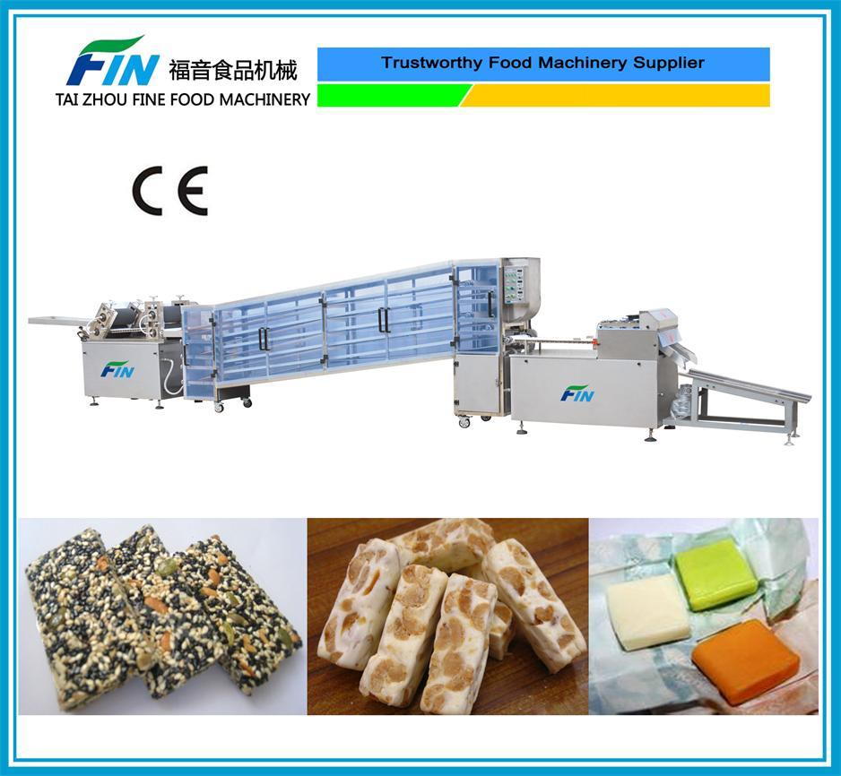 Semi-Automatic Nougat, Milk Candy, Sugus, Square Shape Candy Machine