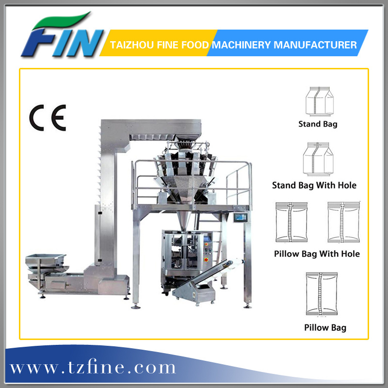 Big Volume Tea Automatic Weighing and Filling Packing Machine