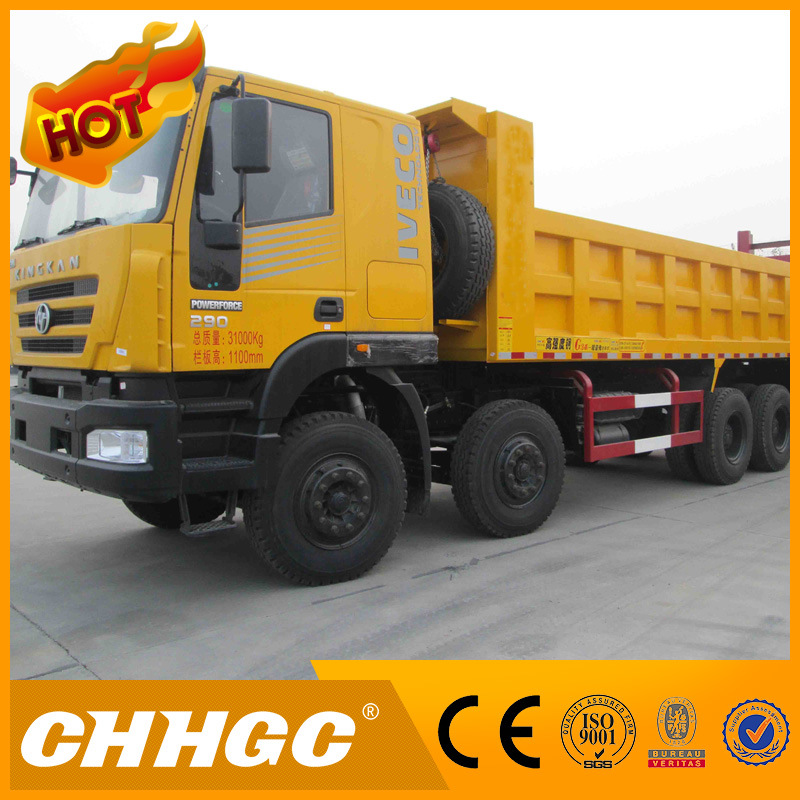 CCC ISO Approved 15t 4axle Dump Truck