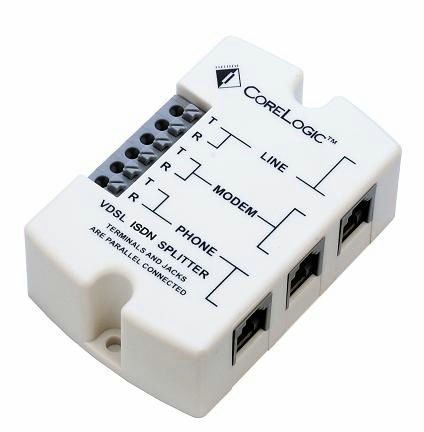 VDSL2 Over Isdn 4b3t 150 Ohm &220 Ohm +820 Ohm //115nf Clsi-027m2CPE Splitter