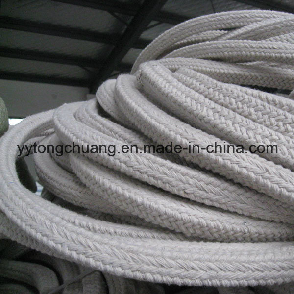 Aluminum Silicate Insulation Ceramic Fiber Square Braided Rope Gasket