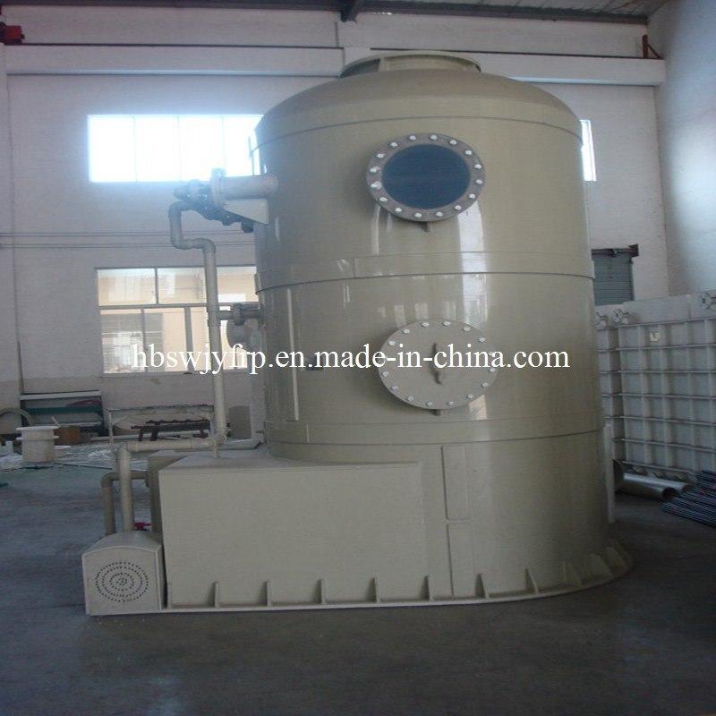 FRP GRP Fiberglass Gas Scrubber Filter Seprator