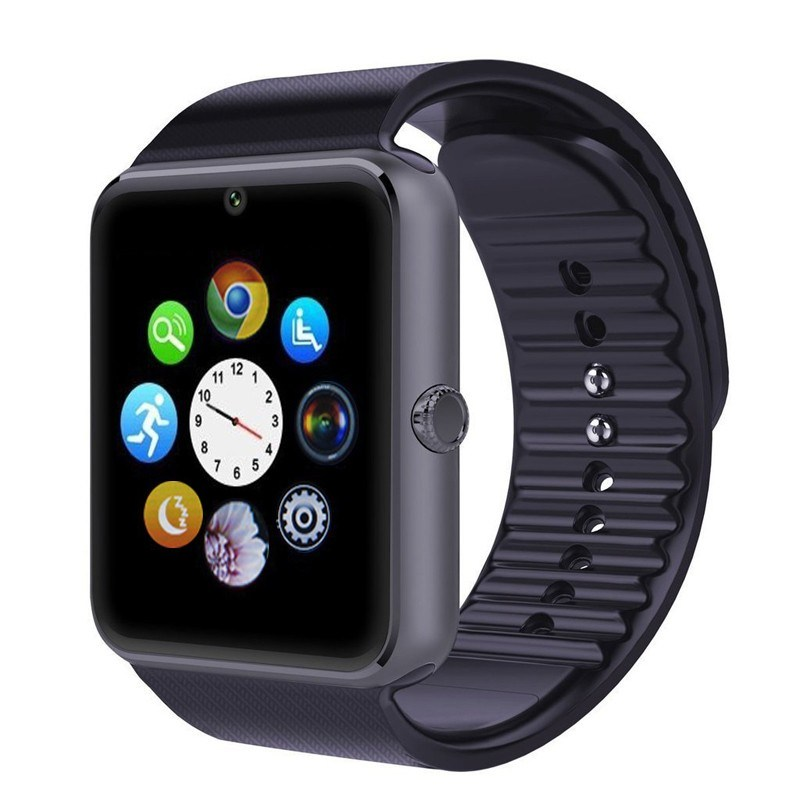 Bluetooth Ecdream Gt08 Smart Watch Phone with SIM Card Built-in for Men Woman Sport Remote