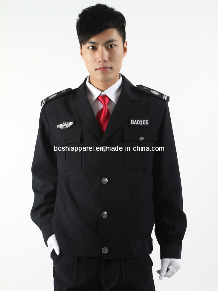 2013 Security Uniforms, Safety Police Clothes (LA-B020)