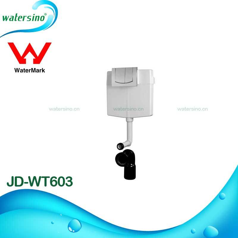 Hot Selling Watermark Water Saving Concealed Dual Flush Front Button Cistern