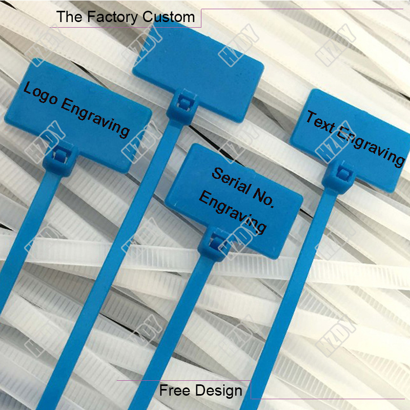 The Sign Type Nylon Cable Tie