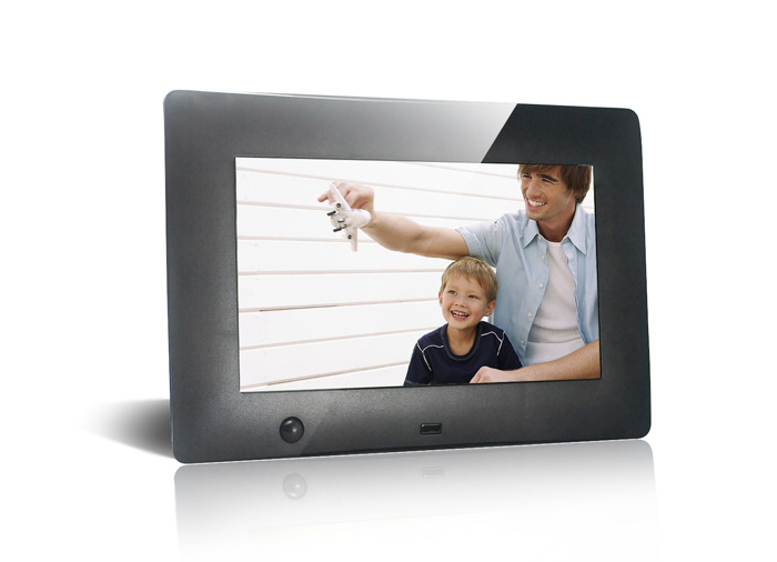Digital Photo Frame with Montion Sensor