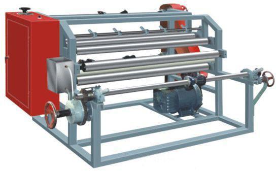 Simple Type Film Slitter Rewinder Machine (LFQ-1300, LFQ-1600)