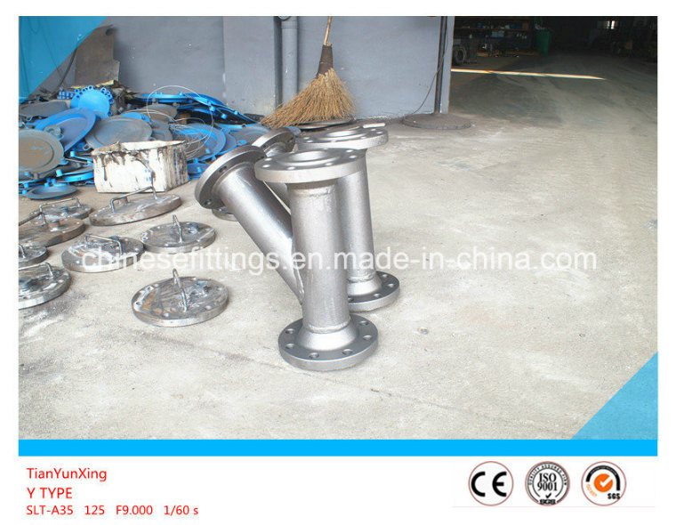 Y Type Stainless Steel Strainer with Flanged End