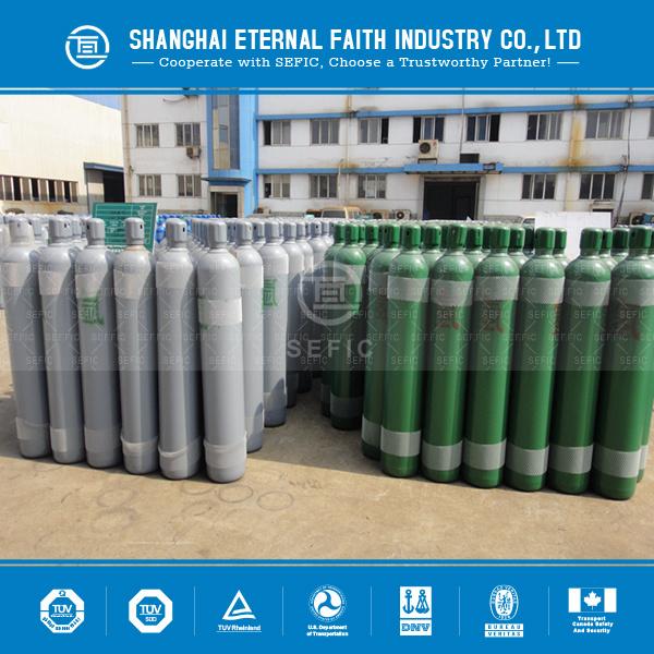 Seamless Steel High Pressure Hydrogen Gas Cylinder (GB5099/EN ISO9809-1)