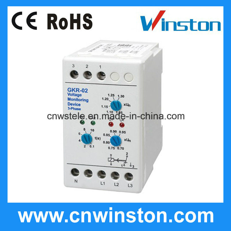 Voltage Monitoring Device : China v voltage monitoring device relay phase