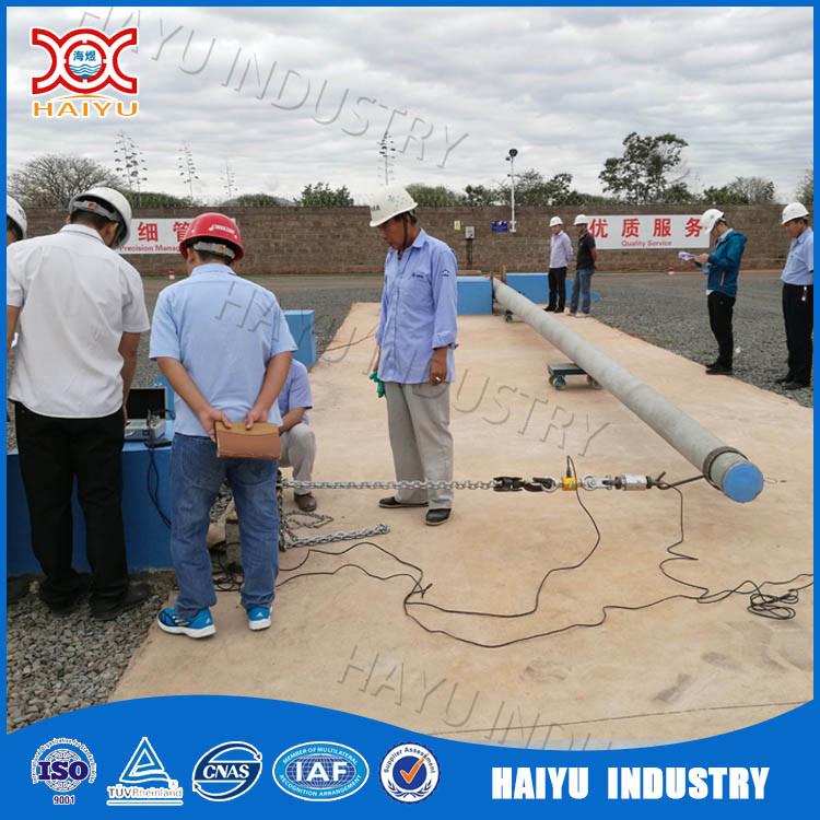Prestressed Spun Concrete Electric Pole Making Plant Machine