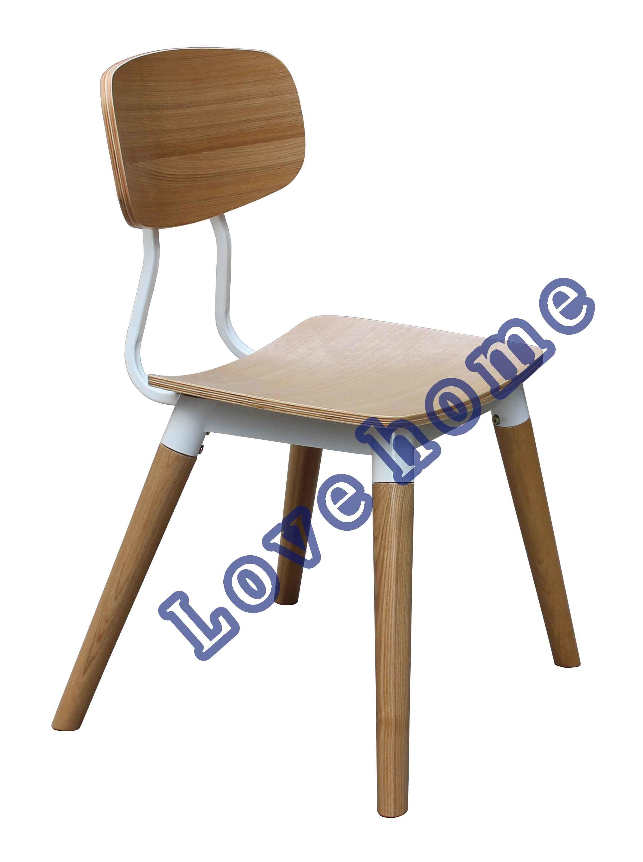 Classic Dining Restaurant Furniture Walnut Copine Sean Dix Chair