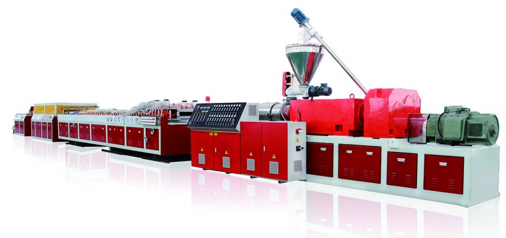 PVC and Wood Plastic Door Panel Extrusion Line (JG-MSB)