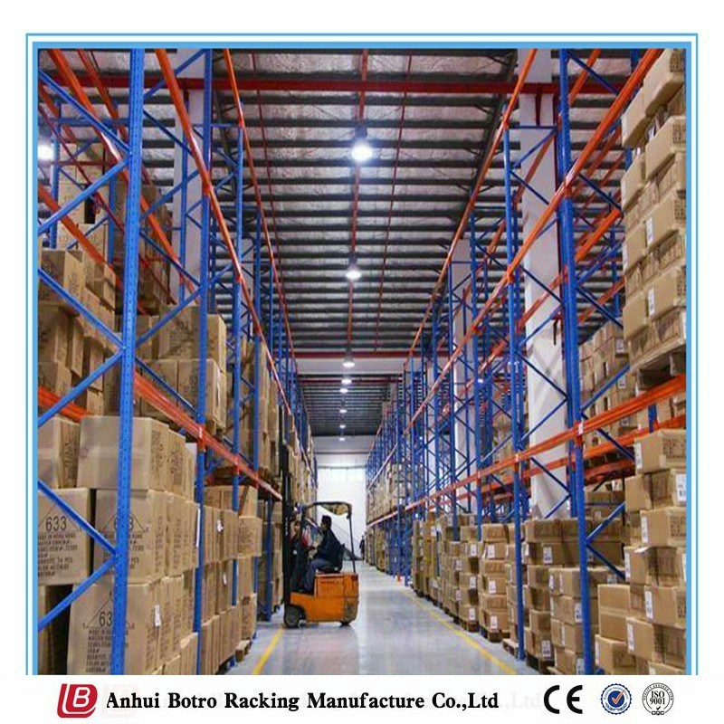 Sheet Metal Fabrication Warehouse Pallet Beam Racking