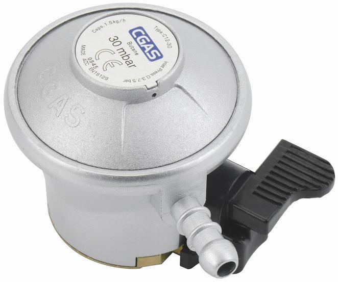 LPG Compact Low Pressure Gas Regulator (C12G52U30)