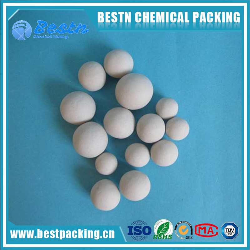 Inert Ceramic Ball Industrial Packing Balli as Support Media