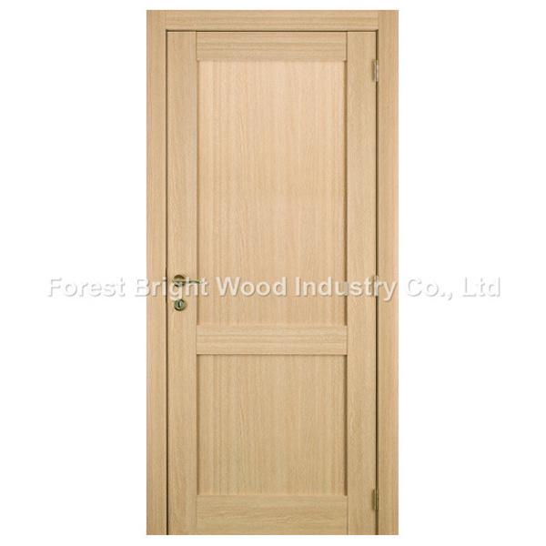 Oak Veneer Composite 2 Panel Stile and Rail Shaker Door